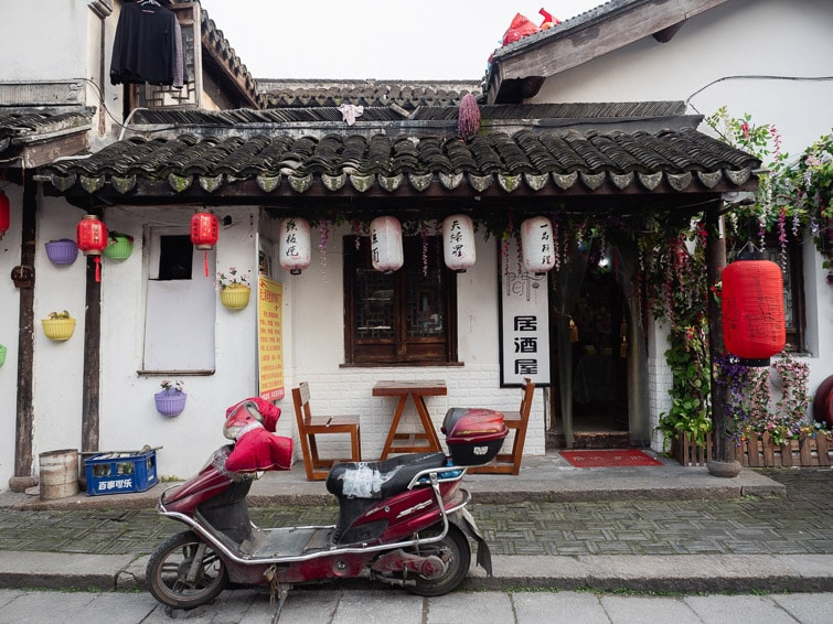 Streets Of Nanxiang Ancient Town
