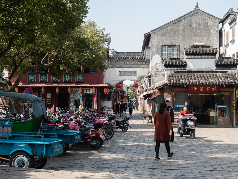 Ancient Streets Of Tongli China