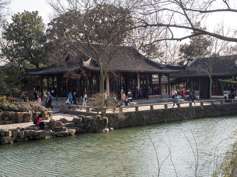 Largest Garden In Suzhou China