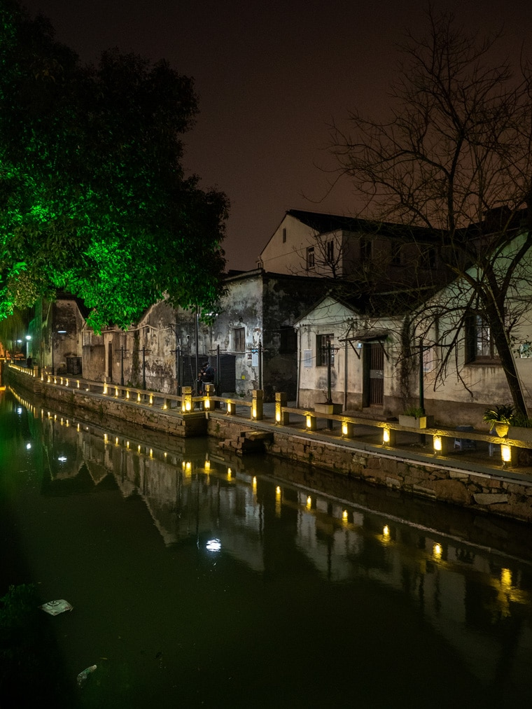 Old Canal Village Suzhou China