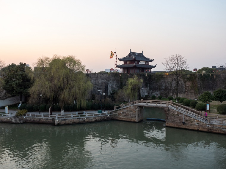 Panmen Scenic Area And Panmen Gate Suzhou