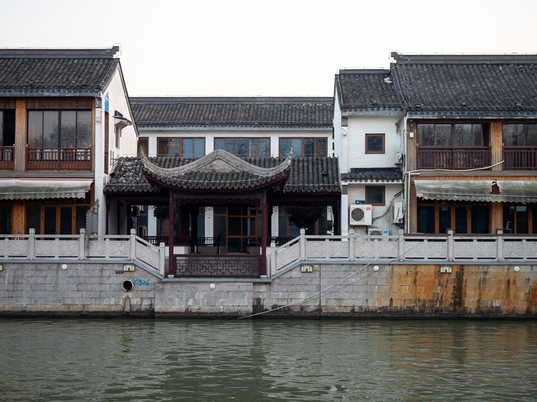 Suzhou Ancient Canal Houses China
