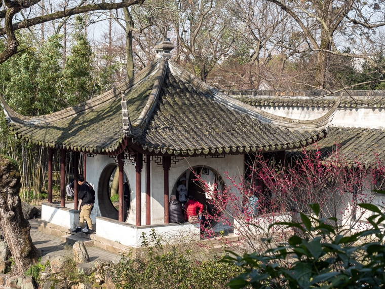 The Secluded Pavilion Of Phoenix Tree And Bamboo Suzhou