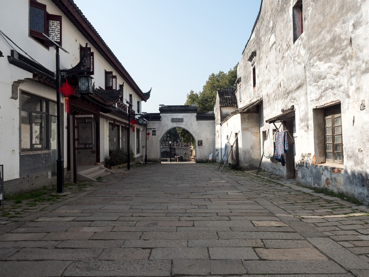 Tongli Ancient Town Entry