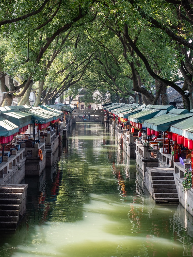 Tongli Ancient Water Town Canals