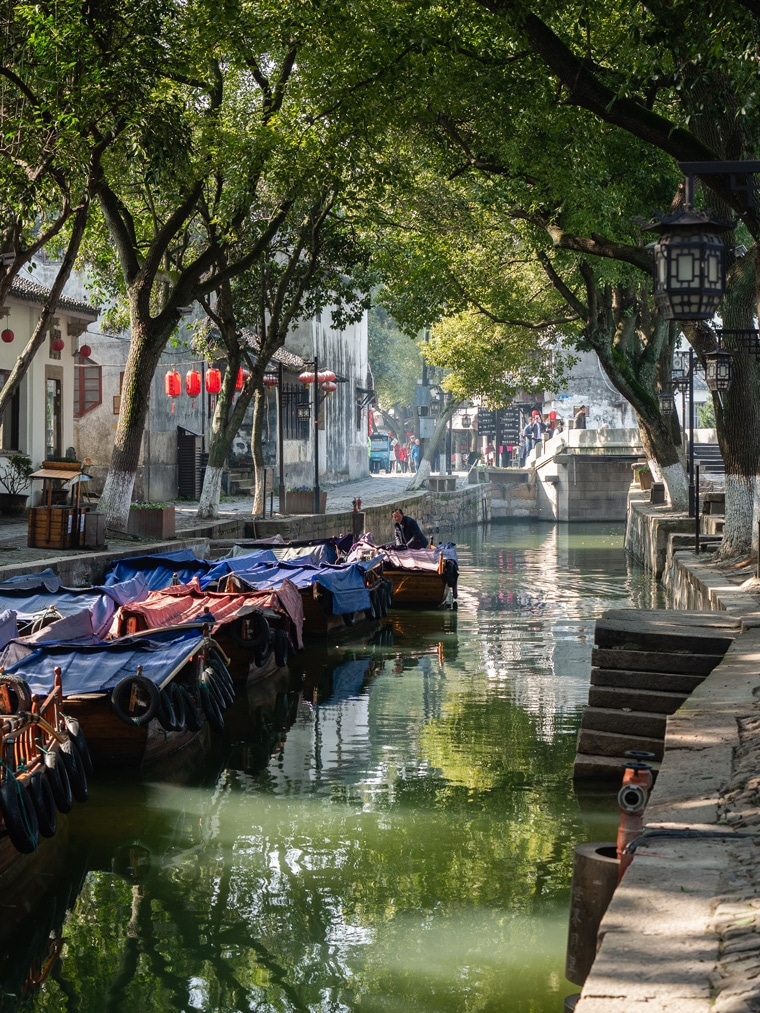 Tongli Canals China