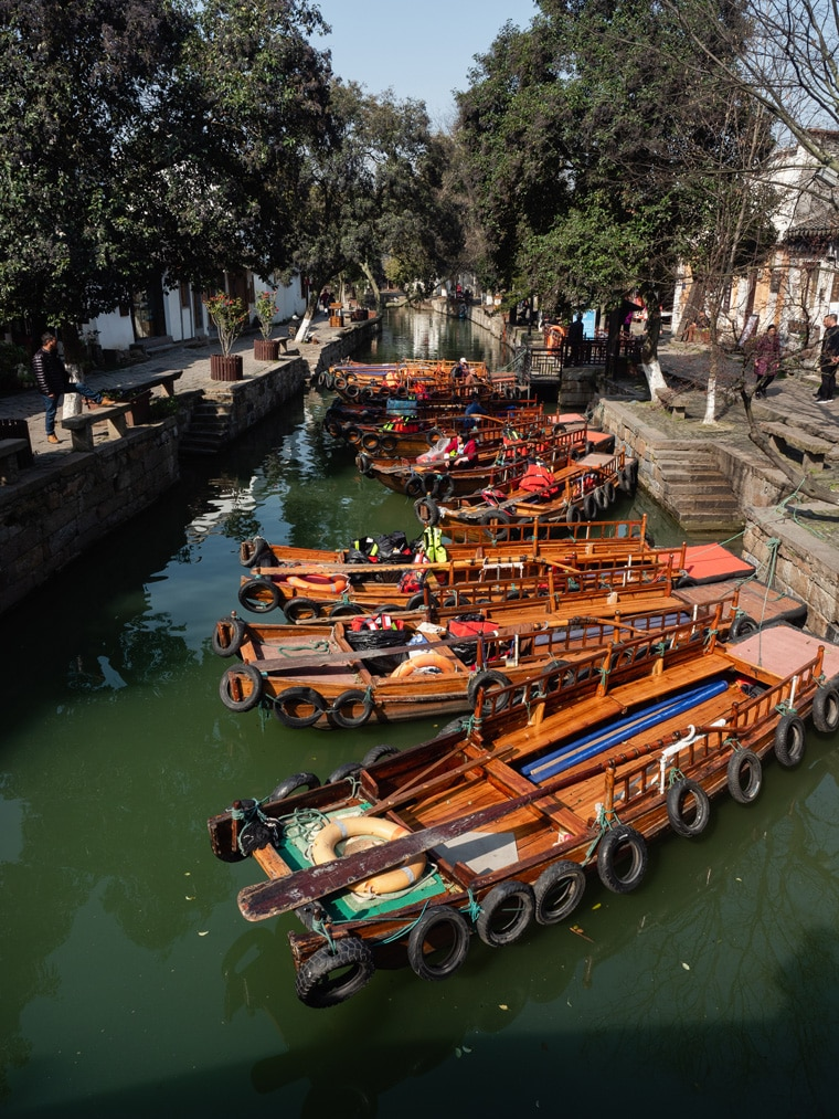 Tongli River Boats China