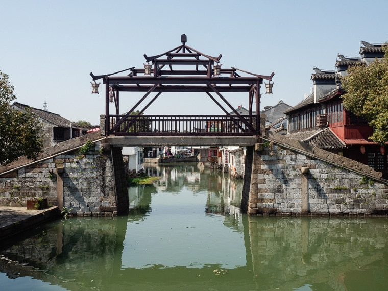 Tongli Water Town Ancient Bridge
