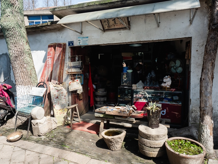 Tongli Water Tower Local Shops