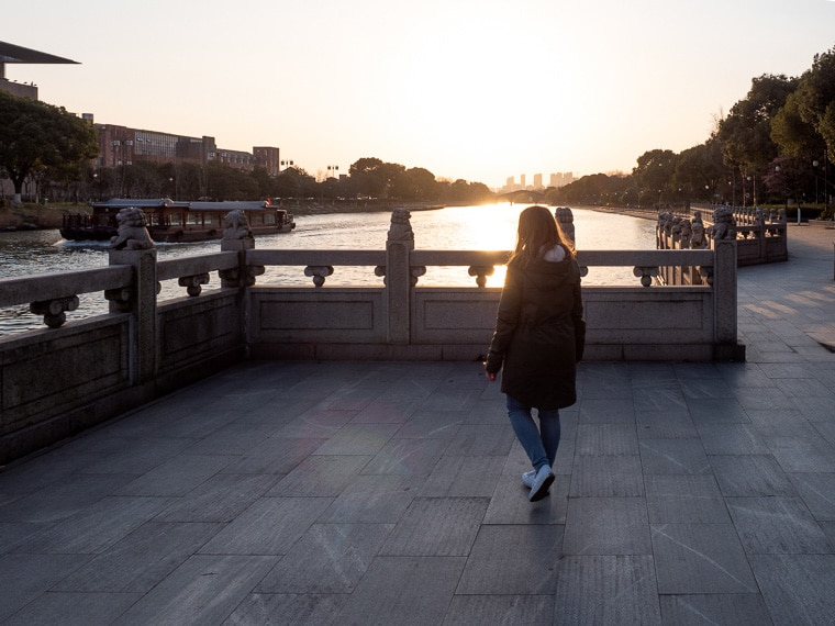 Walking The Suzhou City Moat Ring Trail